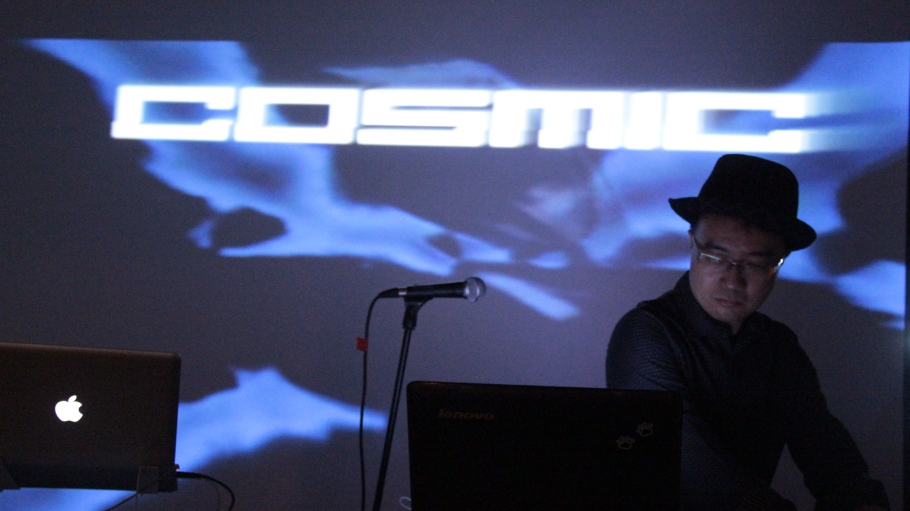 Cosmic Armchair live jam at Heart of Glass