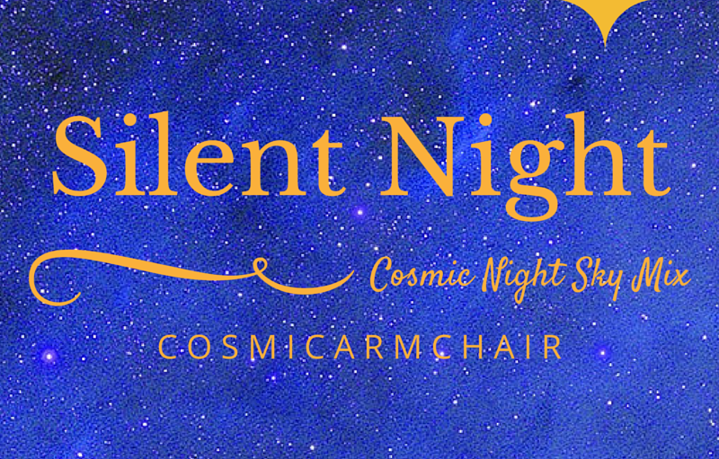 Silent Night Cosmic Night Sky Mix - an indie electronic synthpop version of the Chriistmas Carol Silent Night